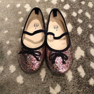 Glitter flats size 9
